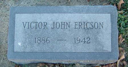 ERICSON, VICTOR JOHN - Delaware County, Iowa   VICTOR JOHN ERICSON