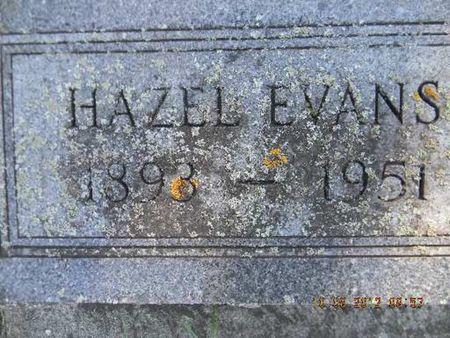 EVANS, HAZEL - Delaware County, Iowa | HAZEL EVANS