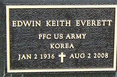 EVERETT, EDWIN KEITH - Delaware County, Iowa | EDWIN KEITH EVERETT