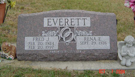 EVERETT, FRED J. - Delaware County, Iowa | FRED J. EVERETT