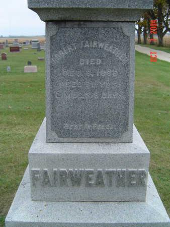 FAIRWEATHER, ROBERT - Delaware County, Iowa | ROBERT FAIRWEATHER
