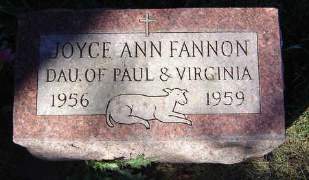 FANNON, JOYCE ANN - Delaware County, Iowa | JOYCE ANN FANNON