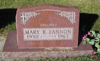FANNON, MARY R. - Delaware County, Iowa   MARY R. FANNON