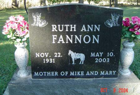 FANNON, RUTH ANN - Delaware County, Iowa | RUTH ANN FANNON