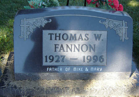 FANNON, THOMAS W. - Delaware County, Iowa | THOMAS W. FANNON