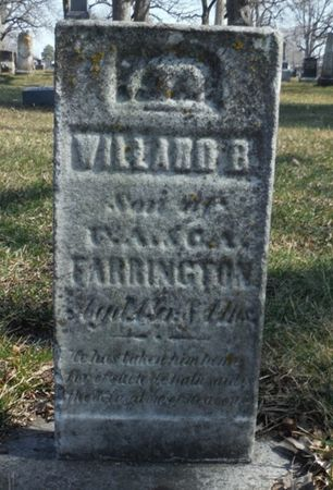FARRINGTON, WILLARD B. - Delaware County, Iowa | WILLARD B. FARRINGTON