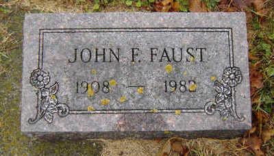 FAUST, JOHN F. - Delaware County, Iowa | JOHN F. FAUST