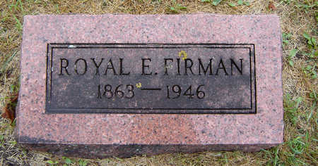 FIRMAN, ROYAL E. - Delaware County, Iowa | ROYAL E. FIRMAN