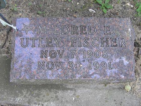 UTLEY FISCHER, MILDRED - Delaware County, Iowa | MILDRED UTLEY FISCHER