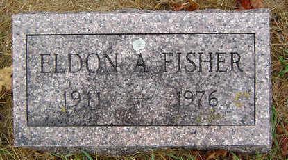 FISHER, ELDON A. - Delaware County, Iowa   ELDON A. FISHER