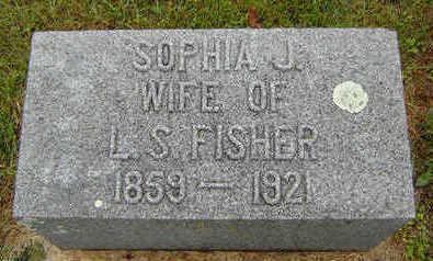 FISHER, SOPHIA J. - Delaware County, Iowa | SOPHIA J. FISHER