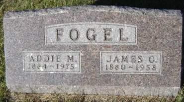 GRAHAM FOGEL, ADDIE M. - Delaware County, Iowa | ADDIE M. GRAHAM FOGEL