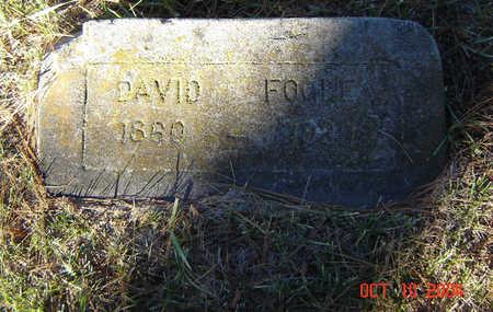 FOGLE, DAVID - Delaware County, Iowa | DAVID FOGLE