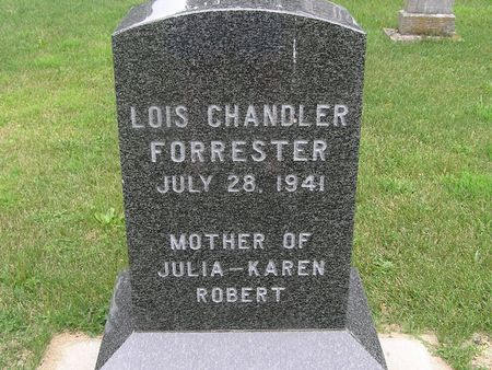 CHANDLER FORRESTER, LOIS - Delaware County, Iowa | LOIS CHANDLER FORRESTER