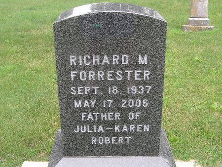 FORRESTER, RICHARD M. - Delaware County, Iowa | RICHARD M. FORRESTER
