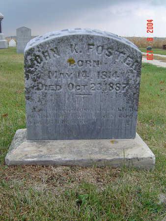 FOSTER, JOHN K. - Delaware County, Iowa | JOHN K. FOSTER