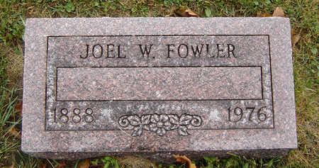FOWLER, JOEL W. - Delaware County, Iowa | JOEL W. FOWLER
