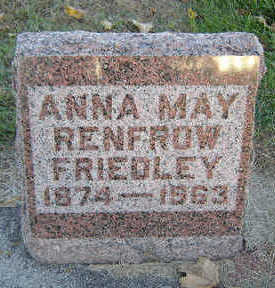 GOTHAM RENFROW, ANNA MAY - Delaware County, Iowa | ANNA MAY GOTHAM RENFROW