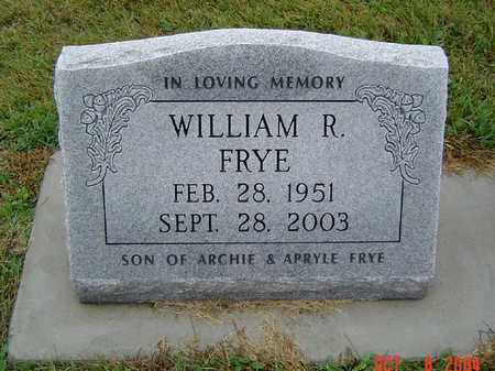 FRYE, WILLIAM R. - Delaware County, Iowa | WILLIAM R. FRYE