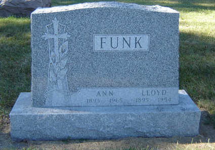 FUNK, ANN - Delaware County, Iowa | ANN FUNK