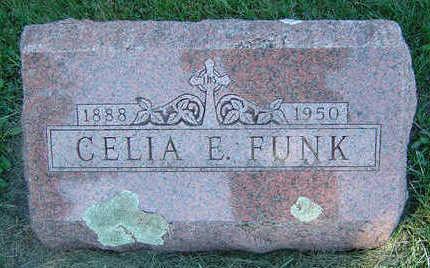 FUNK, CELIA E. - Delaware County, Iowa | CELIA E. FUNK
