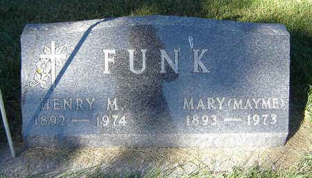 FUNK, MARY (MAYME) - Delaware County, Iowa | MARY (MAYME) FUNK