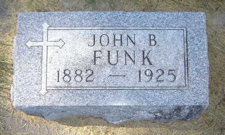 FUNK, JOHN B. - Delaware County, Iowa   JOHN B. FUNK