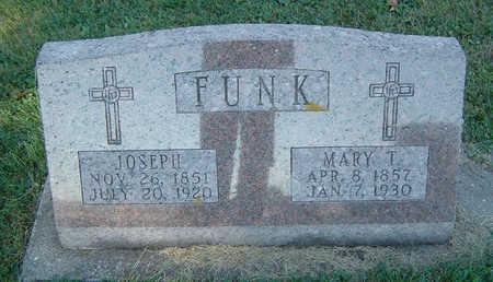 FUNK, MARY T. - Delaware County, Iowa | MARY T. FUNK