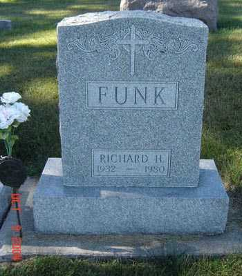 FUNK, RICHARD H. - Delaware County, Iowa | RICHARD H. FUNK