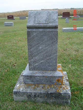 GARDNER, HAZEL M. - Delaware County, Iowa   HAZEL M. GARDNER