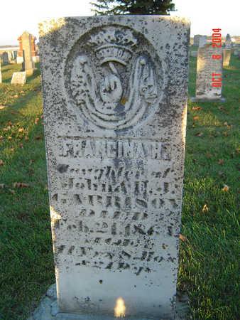 GARRISON, FRANCINA H. - Delaware County, Iowa   FRANCINA H. GARRISON