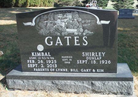GATES, KIMBAL - Delaware County, Iowa   KIMBAL GATES