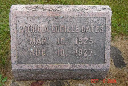 GATES, PATRICIA LUCILLE - Delaware County, Iowa | PATRICIA LUCILLE GATES