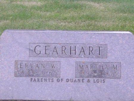 GEARHART, MARTHA M. - Delaware County, Iowa | MARTHA M. GEARHART