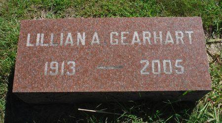 GEARHART, LILLIAN A. - Delaware County, Iowa   LILLIAN A. GEARHART