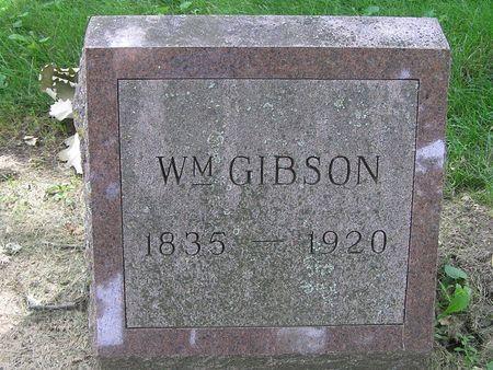 GIBSON, WILLIAM - Delaware County, Iowa | WILLIAM GIBSON