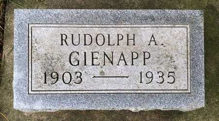 GIENAPP, RUDOLPH AUGUST - Delaware County, Iowa | RUDOLPH AUGUST GIENAPP