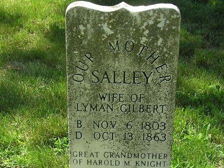 GILBERT, SALLEY - Delaware County, Iowa | SALLEY GILBERT