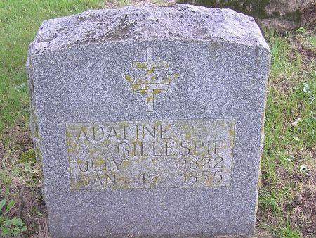 GILLESPIE, ADALINE - Delaware County, Iowa | ADALINE GILLESPIE
