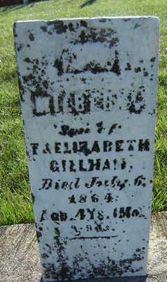 GILLHAM, MILBERN - Delaware County, Iowa   MILBERN GILLHAM