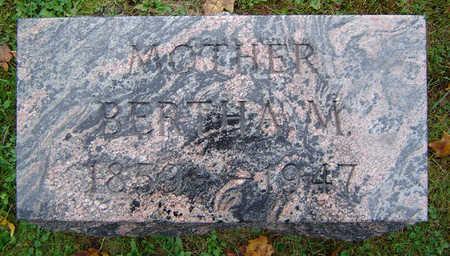 BEDIENT GLAZIER, BERTHA M. - Delaware County, Iowa | BERTHA M. BEDIENT GLAZIER