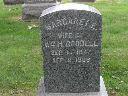 GOODELL, MARGARET E. - Delaware County, Iowa | MARGARET E. GOODELL