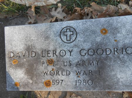 GOODRICH, DAVID LEROY - Delaware County, Iowa | DAVID LEROY GOODRICH