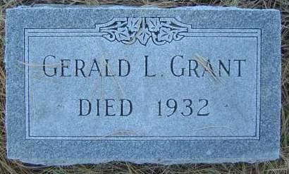 GRANT, GERALD L. - Delaware County, Iowa | GERALD L. GRANT
