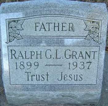 GRANT, RALPH G. L. - Delaware County, Iowa | RALPH G. L. GRANT