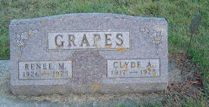 GRAPES, CLYDE A. - Delaware County, Iowa | CLYDE A. GRAPES