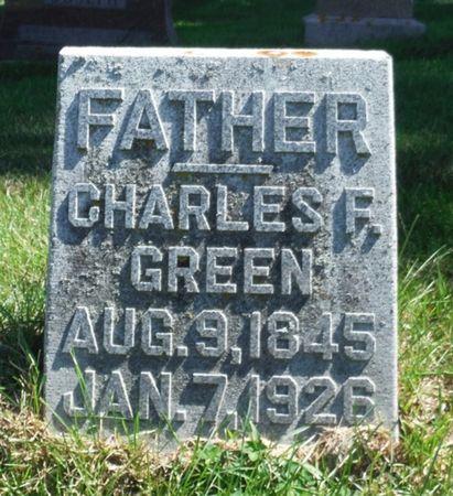 GREEN, CHARLES F. - Delaware County, Iowa | CHARLES F. GREEN