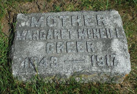 GREEN, MARGARET - Delaware County, Iowa | MARGARET GREEN