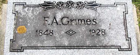 GRIMES, FRANKLIN A. - Delaware County, Iowa   FRANKLIN A. GRIMES
