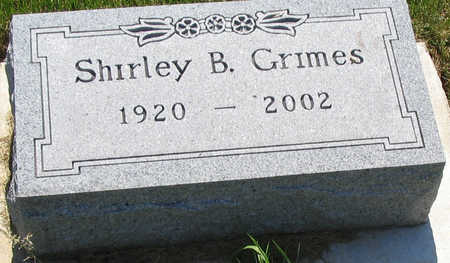 GRIMES, SHIRLEY - Delaware County, Iowa | SHIRLEY GRIMES